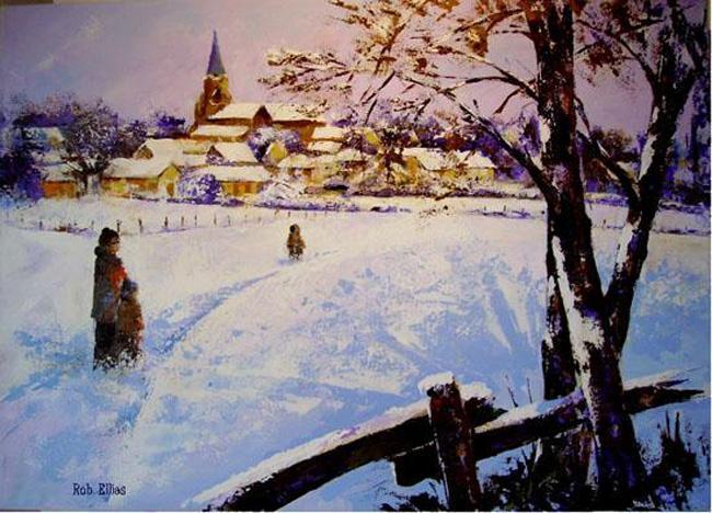 Mably sous la neige 1